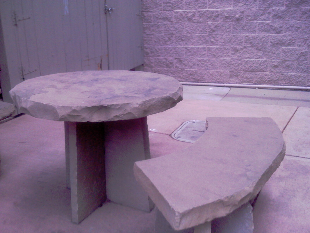 Flagstone Table